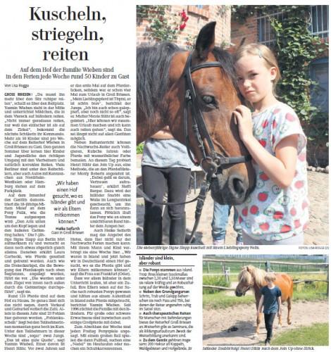 Erschienen in der Märkischen Allgemeinen Zeitung am 17.07.13