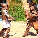 Kämpfen wie im Mittelalter