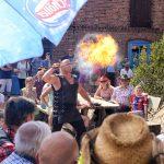 Feuershow auf dem Reiter- und Erlebnisbauernhof Groß Briesen