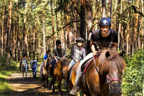 Ausritt Sommerferien Groß Briesen Abenteuercamp