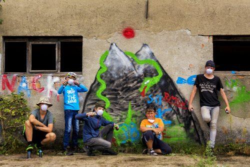 Graffiti Abenteuercamp Groß Briesen